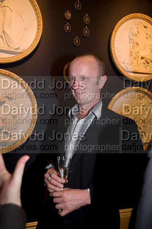 JOHNNIE SHAND KYDD, Preview party for the Versace Sale.  The contents of fashion designer Gianni Versace's villa on Lake Como. Sothebys. Old Bond St. London. 16 March 2009.  *** Local Caption *** -DO NOT ARCHIVE -Copyright Photograph by Dafydd Jones. 248 Clapham Rd. London SW9 0PZ. Tel 0207 820 0771. www.dafjones.com<br /> JOHNNIE SHAND KYDD, Preview party for the Versace Sale.  The contents of fashion designer Gianni Versace's villa on Lake Como. Sothebys. Old Bond St. London. 16 March 2009.