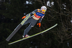 11.01.2014, Kulm, Bad Mitterndorf, AUT, FIS Ski Flug Weltcup, Erster Durchgang, im Bild Kamil Stoch (POL) // Kamil Stoch (POL) during the first jump of FIS Ski Flying World Cup at the Kulm, Bad Mitterndorf, .Austria on 2014/01/11, EXPA Pictures © 2013, PhotoCredit: EXPA/ Erwin Scheriau