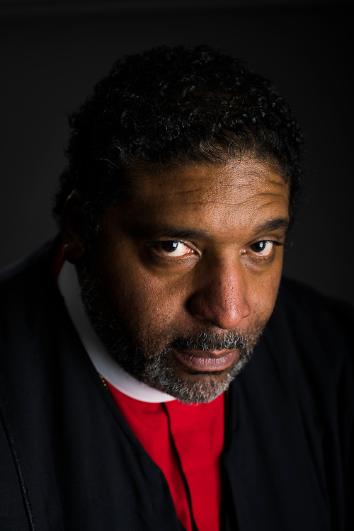 The Reverend William Barber, president of the North Carolina chapter of the NAACP, poses for a portrait at Greenleaf Christian Church on February 5, 2017 in Goldsboro, North Carolina.