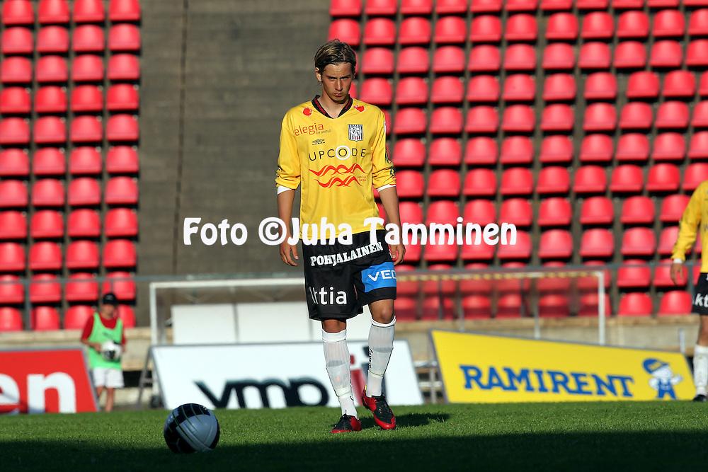 05.07.2010, Ratina, Tampere..Veikkausliiga 2010, Tampere United - Vaasan Palloseura..Kim B?ling - VPS.©Juha Tamminen.
