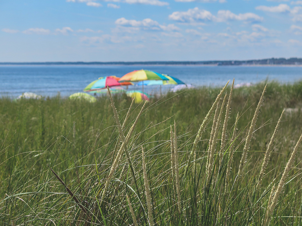 Peaceful beach day on the Maine coast. This was taken near Pine Point near Portland, Maine