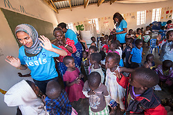 Fatima Khonat (Comms Officer). Visit to Namasimba Under 6 centre in Blantyre. Three-day trip to Malawi with the charity Mary's Meals, June 26-29. 2016.