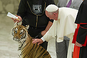 Pope Francis at Jubilee of world travelling shows