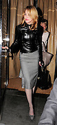 21.OCTOBER.2009 - LONDON<br /> <br /> SINGER MADONNA LEAVING LOCANDA LOCATELLI'S RESTAURANT, MAYFAIR AT 11.00PM LOOKING VERY STYLISH IN MATCHING JACKET AND GLOVES AND MATCHING SKIRT AND SHOES AFTER HAVING DINNER WITH FRIENDS INCLUDING STELLA MCARTNEY<br /> <br /> BYLINE: EDBIMAGEARCHIVE.COM<br /> <br /> *THIS IMAGE IS STRICTLY FOR UK NEWSPAPERS & MAGAZINES ONLY*<br /> *FOR WORLDWIDE SALES & WEB USE PLEASE CONTACT EDBIMAGEARCHIVE-0208 954 5968*