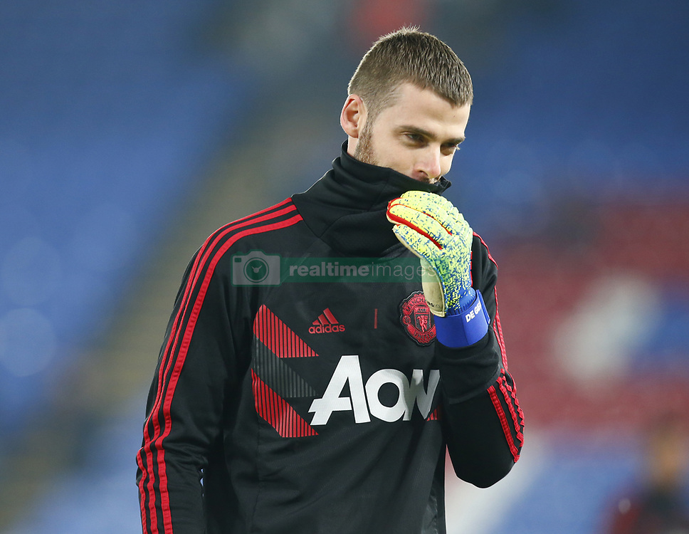February 27, 2019 - London, England, United Kingdom - Manchester United's David De Gea.during English Premier League between Crystal Palace and Manchester  United at Selhurst Park stadium , London, England on 27 Feb 2019. (Credit Image: © Action Foto Sport/NurPhoto via ZUMA Press)