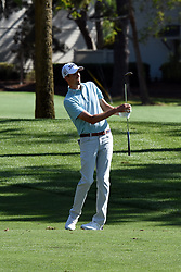 April 12, 2018 - Hilton Head Island, South Carolina, U.S. - HILTON HEAD ISLAND, SC - APRIL 12: Chesson Hadley,  during the first round of the RBC Heritage on April 12, 2018 at Harbour Town Golf Links in Hilton Head Island, SC. (Photo by Theodore A. Wagner/Icon Sportswire) (Credit Image: © Theodore A. Wagner/Icon SMI via ZUMA Press)