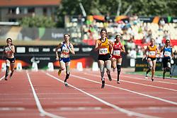 van RHIJN Marlou, LE FUR Marie-Amelie, NED, FRA, 200m, T44, 2013 IPC Athletics World Championships, Lyon, France