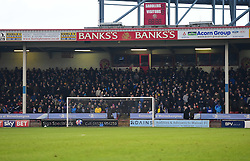 Bristol Rovers Fans in the away end. - Mandatory by-line: Alex James/JMP - 21/01/2017 - FOOTBALL - Banks's Stadium - Walsall, England - Walsall v Bristol Rovers - Sky Bet League One