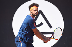 May 27, 2017 - Lyon - Parc Tete D'Or, France - Jo-Wilfried Tsonga (Credit Image: © Panoramic via ZUMA Press)