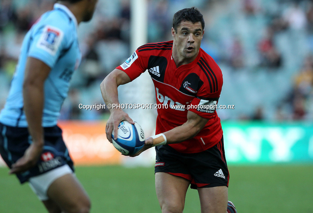 Dan Carter on the run<br />