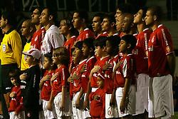 Time do colorado momentos antes de iniciar a final da Copa Libertadores da América 2006 no Estádio Beira Rio, em Porto Alegre. FOTO: Jefferson Bernardes/Preview.com