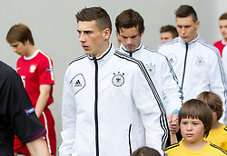 Leon Goretzka of Germany during the UEFA European Under-17 Championship Semifinal match between Germany and Poland on May 13, 2012 in SRC Stozice, Ljubljana, Slovenia. Germany defeated Poland 1-0 and qualified to finals. (Photo by Vid Ponikvar / Sportida.com)