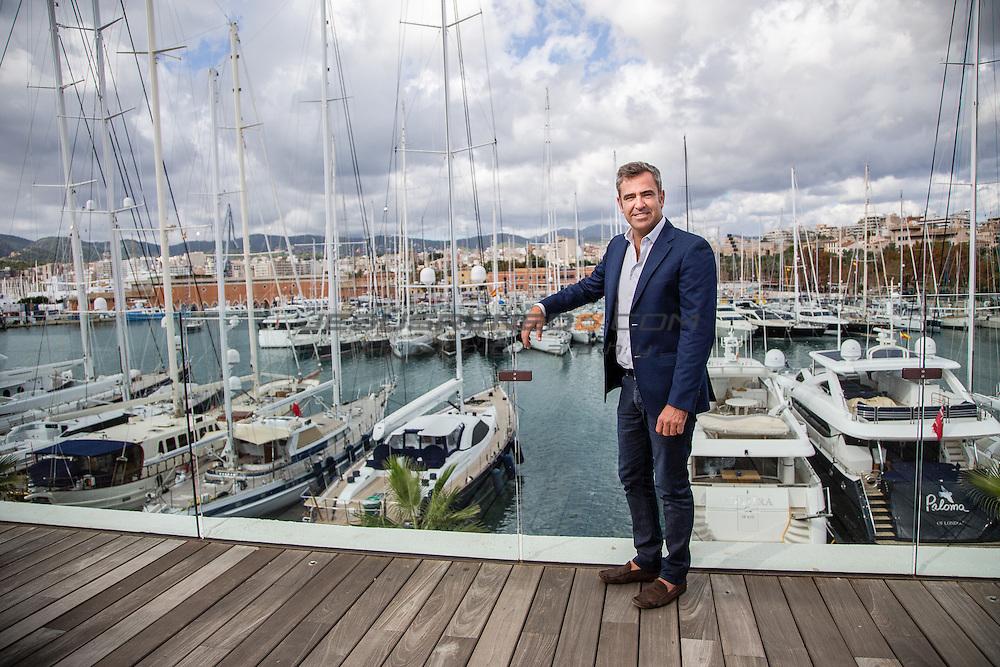 Yacht designer Javier Jaudenes