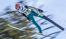 03.01.2014, Bergisel Schanze, Innsbruck, AUT, FIS Ski Sprung Weltcup, 62. Vierschanzentournee, Qualifikation, im Bild Karl Geiger (GER) // Karl Geiger (GER) during qualification Jump of 62nd Four Hills Tournament of FIS Ski Jumping World Cup at the Bergisel Schanze, <br /> Innsbruck, Austria on 2014/01/03. EXPA Pictures © 2014, PhotoCredit: EXPA/ JFK