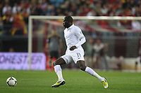 FOOTBALL - FIFA WORLD CUP 2014 - QUALIFYING - SPAIN v FRANCE - 16/10/2012 - PHOTO MANUEL BLONDEAU / AOP PRESS / DPPI - MOUSSA SISSOKO