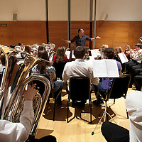Picture Shows :  Members of The National Youth Brass Band of Scotland, 56 of the finest young brass musicians from across Scotland will come together to perform two pieces by performers within the group. Carpe Diem by Bass Trombonist Josiah Walters and Pound the Streets by conductor Paul Lovatt-Cooper.     ..Music for Youth, a music education charity that works annually with 100,000 young people across England and Wales began its work in Scotland on Friday 28th October  2011 with a free concert at Perth Concert Hall. ..A total of 1,000 school children aged 16 and under from Perth and Kinross, Fife, West and Dunbarton and Inverness attended. The concert, supported by Creative Scotland is the launch event for Music for Youth's arrival in Scotland and was compered  by Adey Grummet. .Picture by Drew Farrell Tel : 07721-735041...The show featured performances from .The Gordon Duncan Experience.Feelfree  Conspiracy .The National Youth Choir of Scotland Stirling Area Choir.Drake Music Scotland and Kilpatrick School from West Dunbartonshire and.The National Youth Brass Band of Scotland.