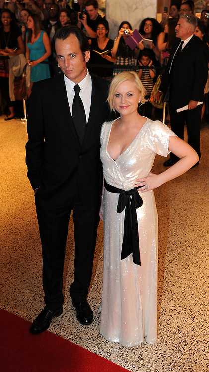 Amy Poehler and Will Arnett arrives for the White House Correspondents Dinner in Washington, DC