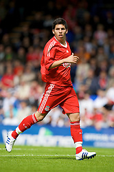 BIRKENHEAD, ENGLAND - Saturday, July 12, 2008: Liverpool's Daniel Pacheco during his side's first pre-season match of the 2008/2009 season against Tranmere Rovers at Prenton Park. (Photo by David Rawcliffe/Propaganda)