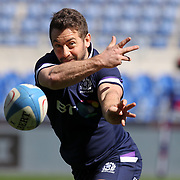 Roma 16/03/2018 Stadio Olimpico<br /> Natwest 6 nations Italia vs Scozia<br /> Captain's Run Scozia<br /> Greig Laidlaw