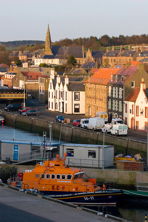 Port of Eyemouth, Scottish Borders in Scotland