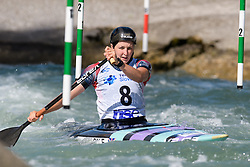 Eilidh GIBSON of Great Britain during the Canoe Single (WC1) Womens Semi Final race of 2019 ICF Canoe Slalom World Cup 4, on June 30, 2019 in Tacen, Ljubljana, Slovenia. Photo by Sasa Pahic Szabo / Sportida