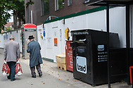 London, 10/08/2017: Charity clothes recycling, Hackney.<br /> &copy; Andrea Sabbadini