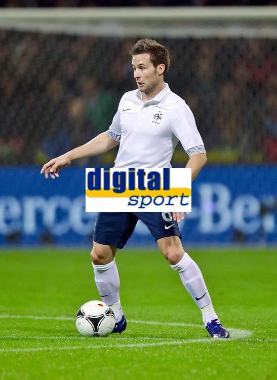 FOOTBALL - FRIENDLY GAME 2011/2012 - GERMANY v FRANCE  - 29/02/2012 - PHOTO DPPI - YOHAN CABAYE (FRA)