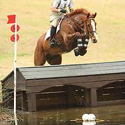 Adrienne Irio (USA) and Dromore Boy at the 2007 Red Hills Horse Trials in Tallahassee, Florida