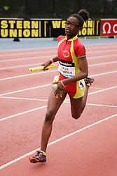 Samsung Diamond League adidas Grand Prix track & field; 4x400 meter relay youth girls, Halls Express II Youth Track