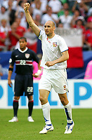 Jubel 0:1 Jan Koller Tschechien<br /> USA - Tsjekkia<br /> Fussball WM 2006 USA - Tschechien<br /> Norway only<br /> Fotball VM