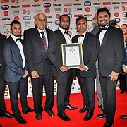 Certificate of Excellence at Asian Restaurant & Takeaway Awards | ARTA 2018 at InterContinental London - The O2, London, UK. 30 September 2018.