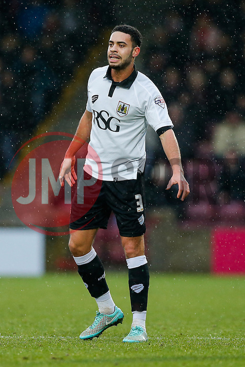 Derrick Williams of Bristol City looks on - Photo mandatory by-line: Rogan Thomson/JMP - 07966 386802 - 17/01/2015 - SPORT - FOOTBALL - Scunthorpe, England - Glanford Park - Scunthorpe United v Bristol City - Sky Bet League 1.