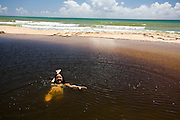 Porto Seguro_BA, Brasil...Lagoas do Seu Satu em Porto Seguro...The Seu Satu lakes in Porto Seguro...Foto: LEO DRUMOND / NITRO