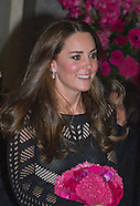 Pregnant Kate Attends Addiction Gala, London