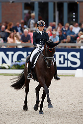 Maas Lynne, NED, Fantastique<br /> Longines FEI/WBFSH World Breeding Dressage Championships for Young Horses - Ermelo 2017<br /> © Hippo Foto - Dirk Caremans<br /> 05/08/2017