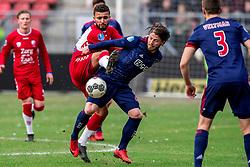 28-01-2018 NED: FC Utrecht - AFC Ajax, Utrecht<br /> Lasse Schone #20 of Ajax, Zakaria Labyad #10 of FC Utrecht