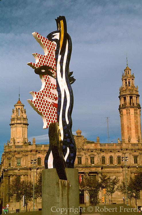 SPAIN, CATALONIA, BARCELONA 'El Cap de Barcelona' by Lichtenstein