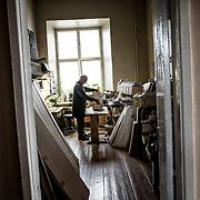 Frdor Shantsyn, in his office