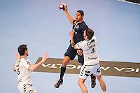 Daniel Narcisse / Bastien Laumon - 14.05.2015 - PSG / Dunkerque - 23eme journee de D1<br /> Photo : Andre Ferreira / Icon Sport