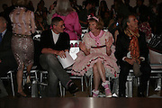 GILES DEACON AND GRAYSON PERRY,  London College of Fashion catwalk show. Royal Academy of Arts, 6 Burlington Gardens. London. 31 May 2007. -DO NOT ARCHIVE-© Copyright Photograph by Dafydd Jones. 248 Clapham Rd. London SW9 0PZ. Tel 0207 820 0771. www.dafjones.com.