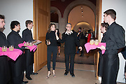 MARIE HELVIN; DAVID DOWNTON, Opening of Bailey's Stardust - Exhibition - National Portrait Gallery London. 3 February 2014