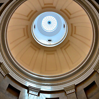 North Carolina State Capitol Rotunda Dome in Raleigh, North Carolina<br />