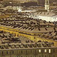 Torino sotto la neve
