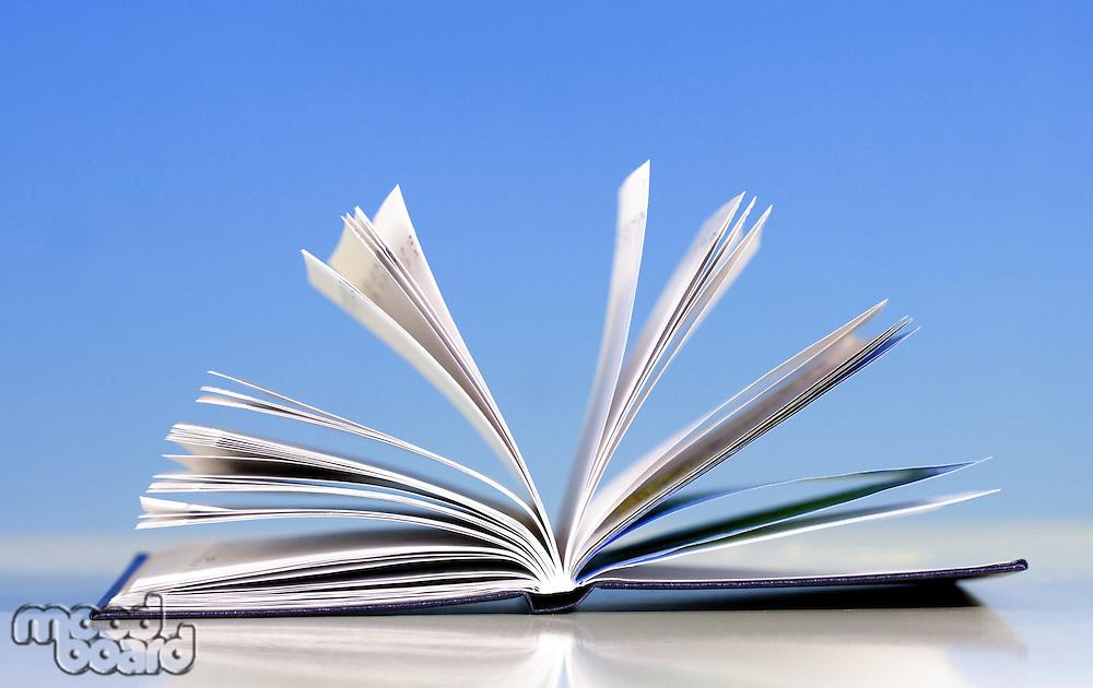 Note book - close up