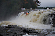 Agers Falls, Bottom Moose River