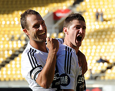 Wellington-Football, A-League, Phoenix v Adelaide, February 24