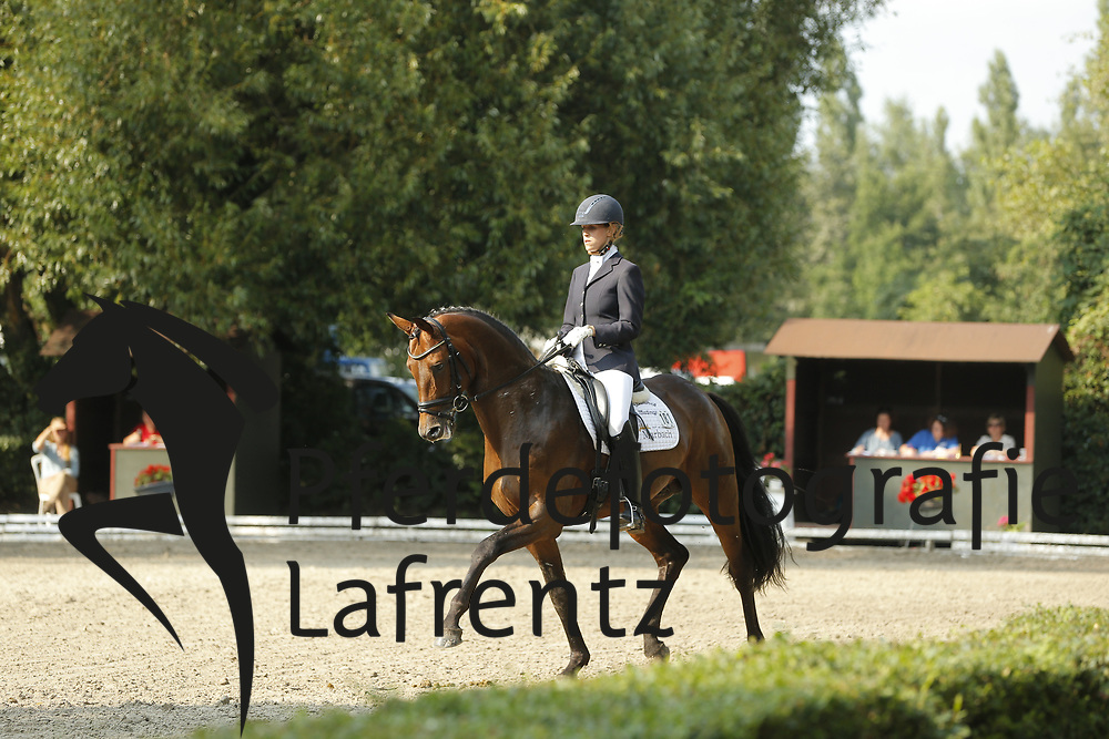 Wahler, Theresa, Herbstkönig<br /> Hannover - Trakehner Bundesturnier<br /> Dressurpferde - Klasse M<br /> © www.sportfotos-lafrentz.de/ Stefan Lafrentz