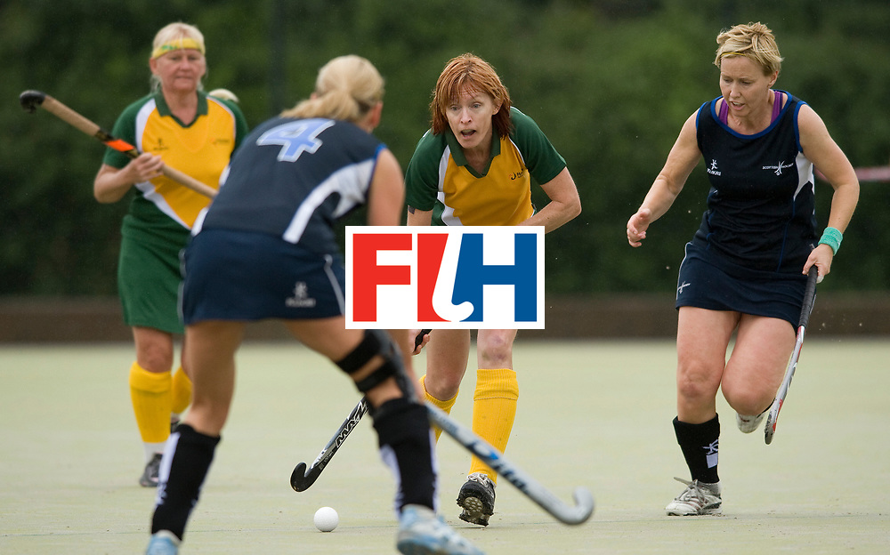 Women's Champions Trophy - Nottingham, 12th July 2010.<br /> Masters Cup - Scotland vs Australia