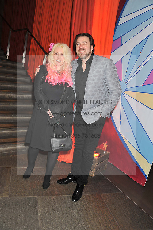 JANE GOLDMAN and JONATHAN ROSS at A Night of Funk & Soul in aid of Save The Children held at The Roundhouse, Camden, London on 20th March 2013.