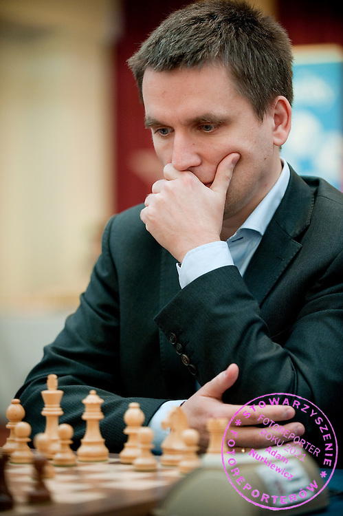 Bartosz Socko from Poland during European Team Chess Championships 2013 at Novotel Hotel in Warsaw on November 10, 2013.<br /> <br /> Poland, Warsaw, November 10, 2013<br /> <br /> Picture also available in RAW (NEF) or TIFF format on special request.<br /> <br /> For editorial use only. Any commercial or promotional use requires permission.<br /> <br /> Mandatory credit:<br /> Photo by &copy; Adam Nurkiewicz / Mediasport